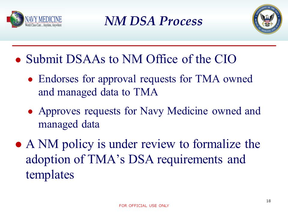 Submit DSAAs to NM Office of the CIO