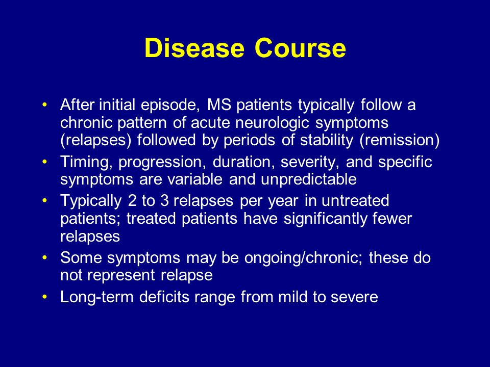 Disease Course