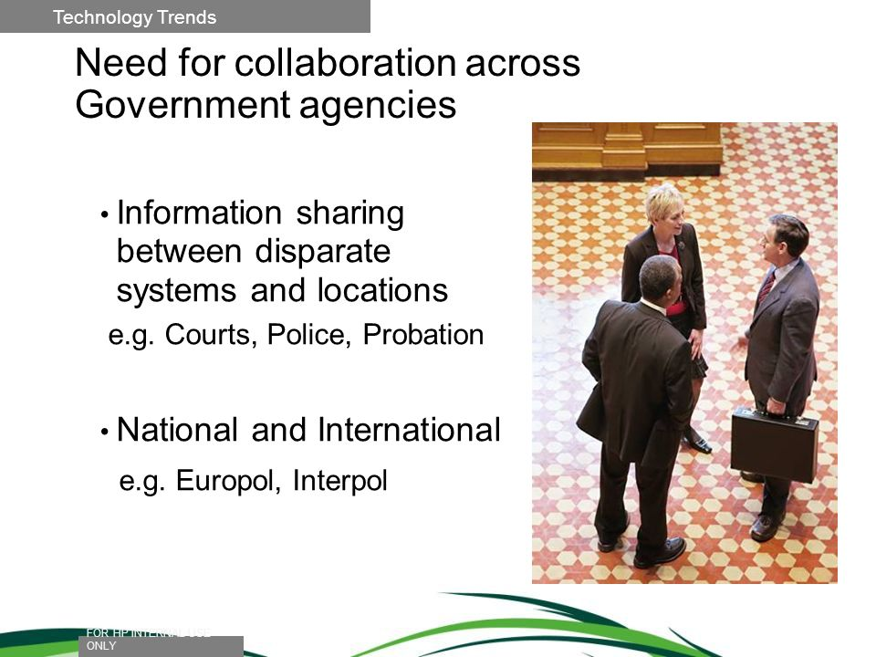 Need for collaboration across Government agencies