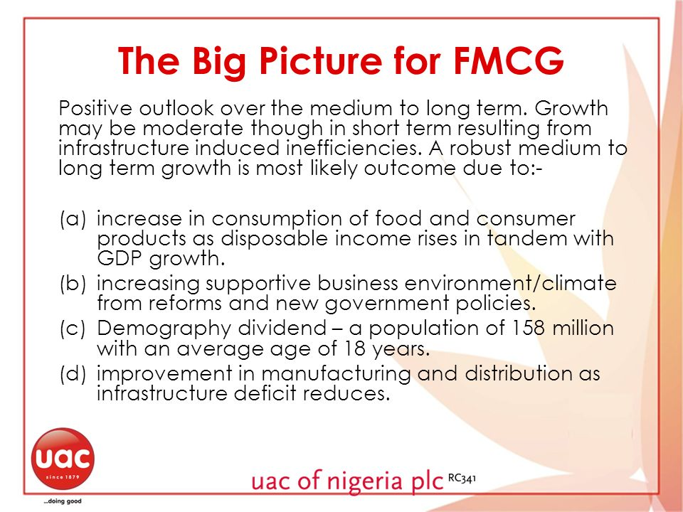 The Big Picture for FMCG