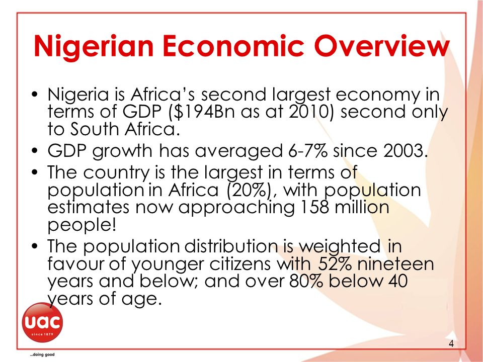Nigerian Economic Overview