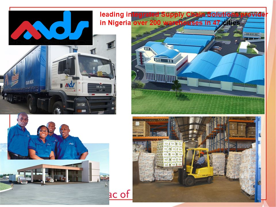 leading integrated Supply Chain Solutions provider in Nigeria over 200 warehouses in 47 cities