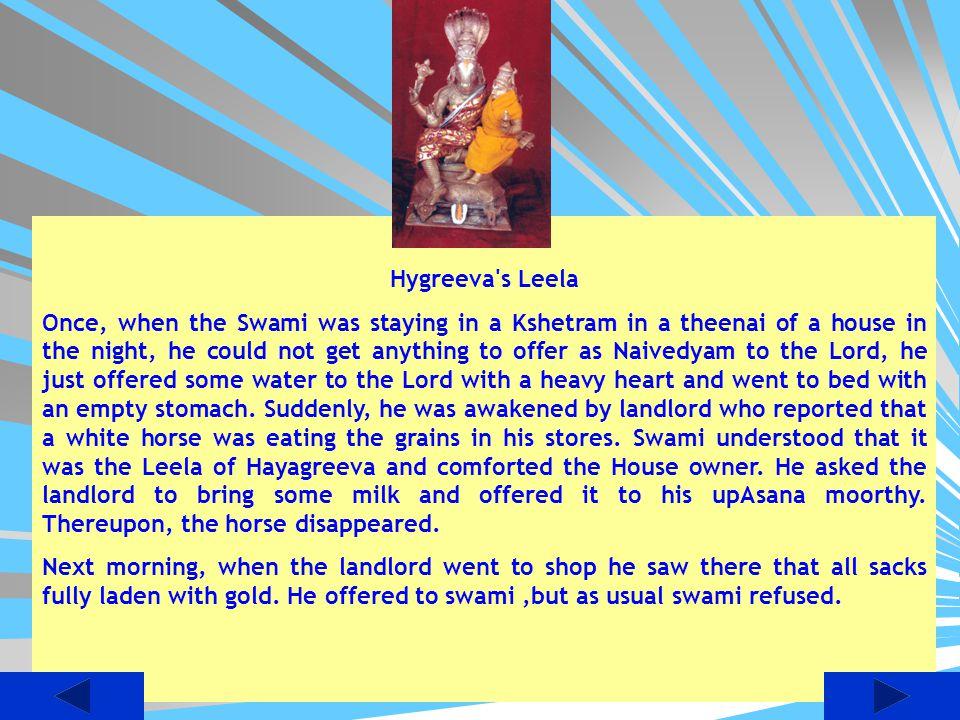 Hygreeva s Leela