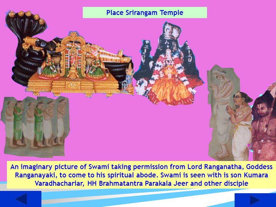 Place Srirangam Temple