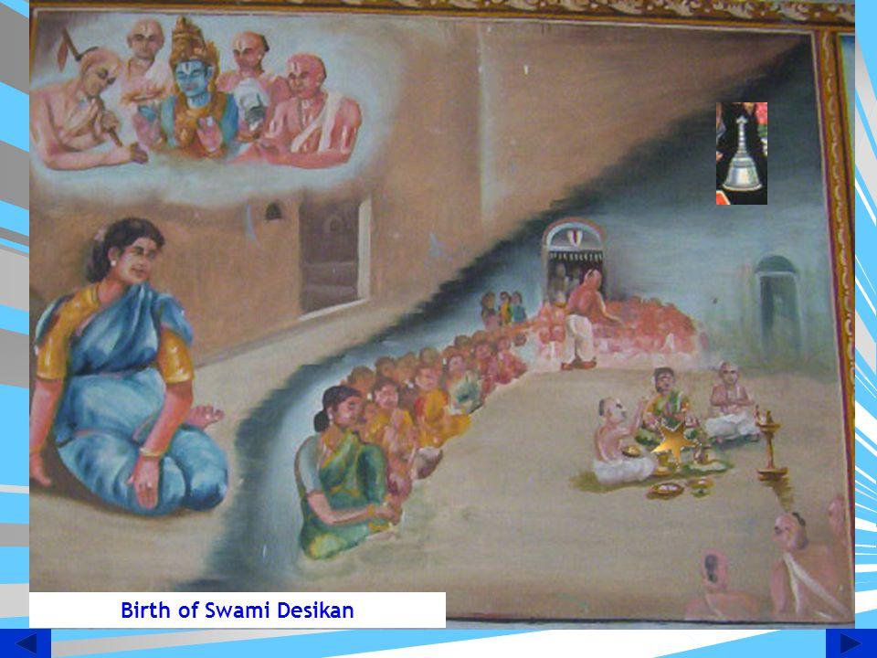 Birth of Swami Desikan