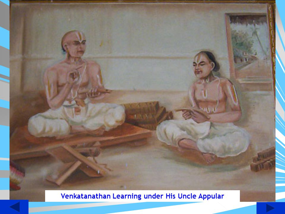 Venkatanathan Learning under His Uncle Appular
