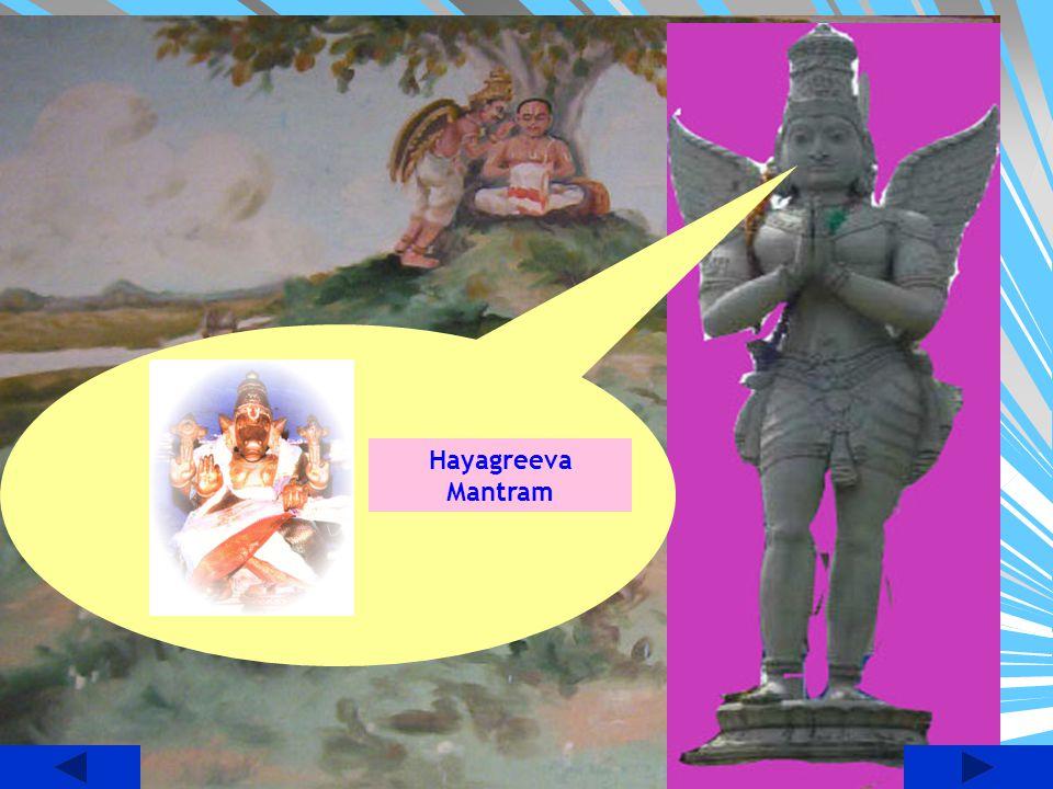 Hayagreeva Mantram