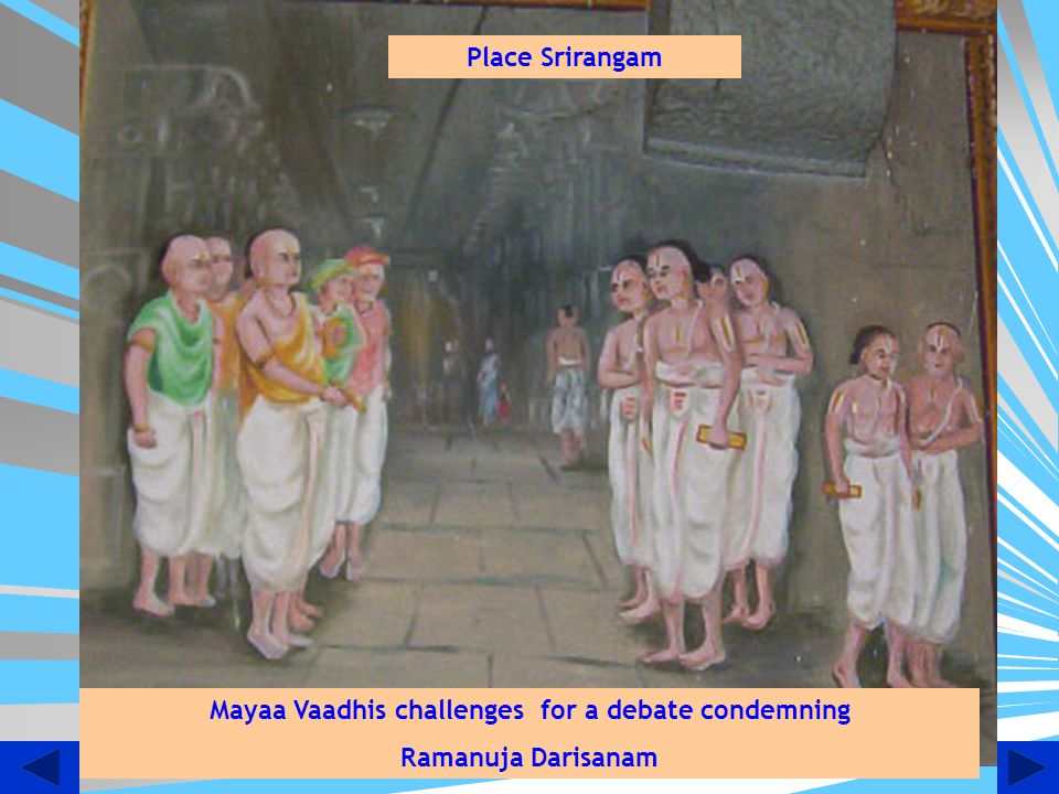Mayaa Vaadhis challenges for a debate condemning