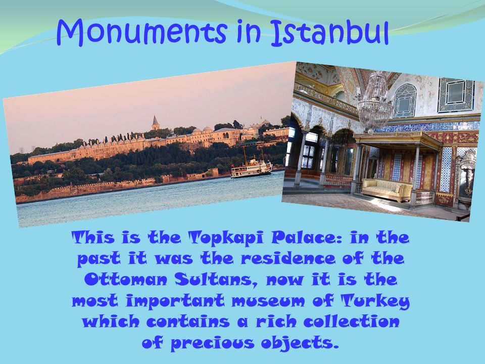 Monuments in Istanbul