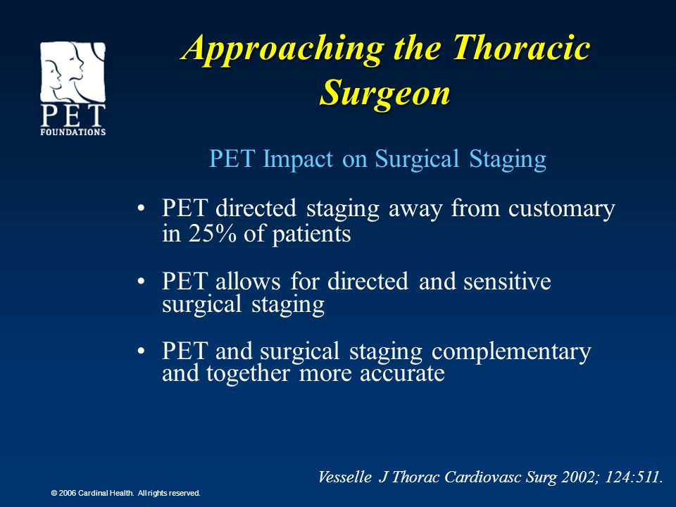 Approaching the Thoracic Surgeon
