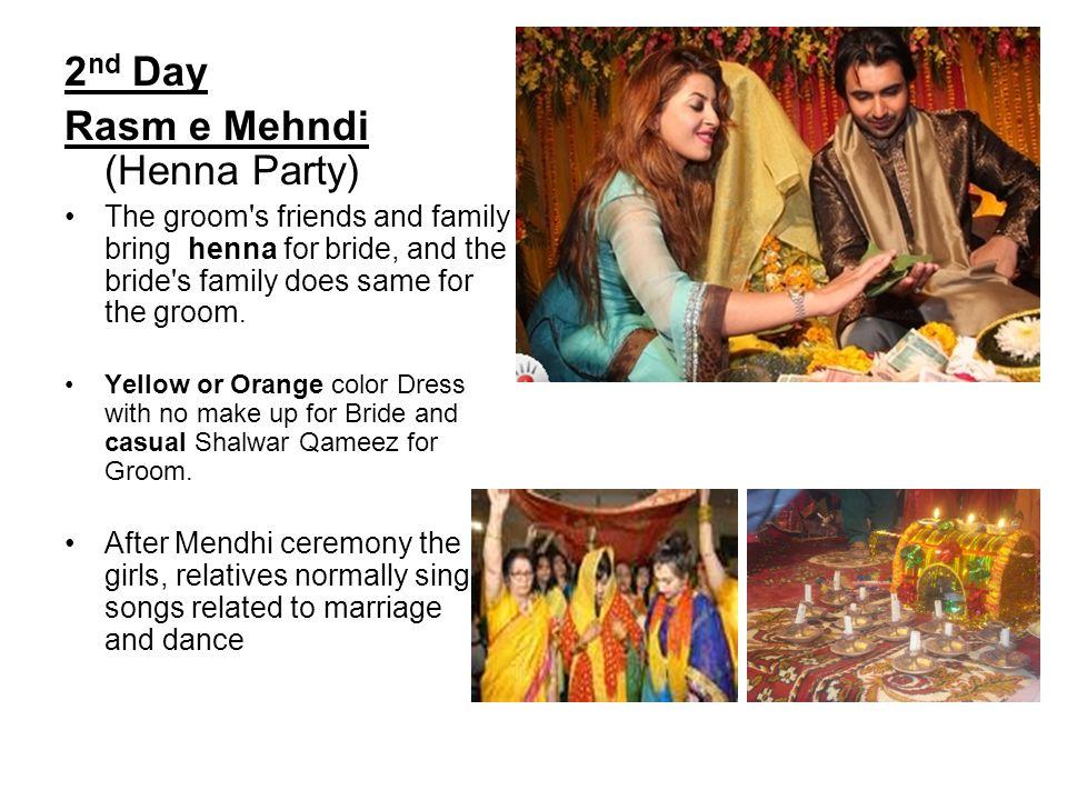 Rasm e Mehndi (Henna Party)