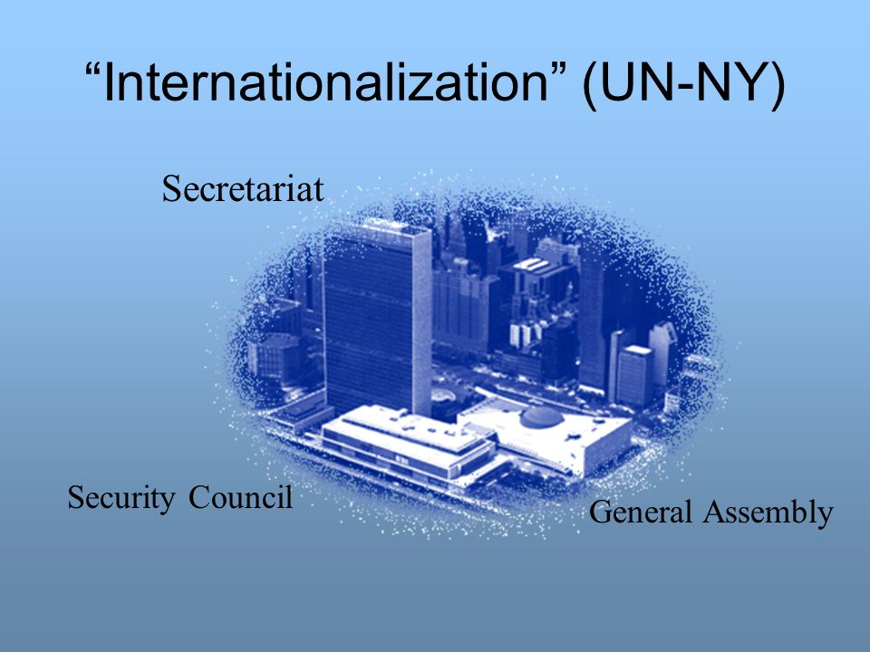 Internationalization (UN-NY)