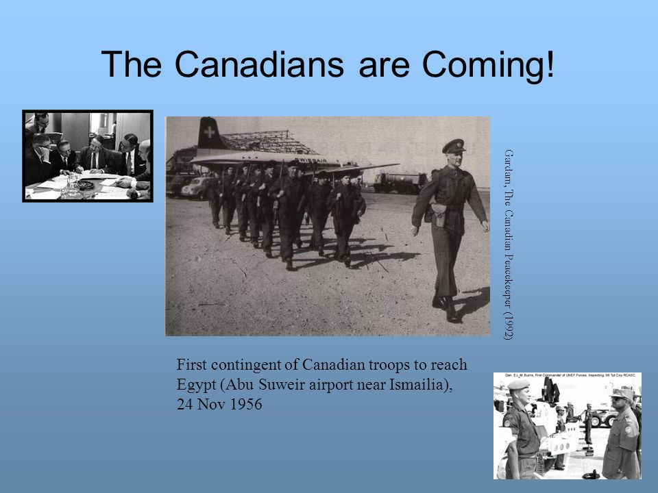 The Canadians are Coming!