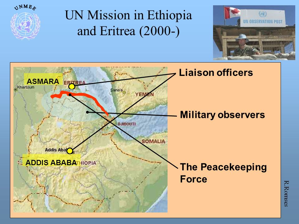 UN Mission in Ethiopia and Eritrea (2000-) Liaison officers