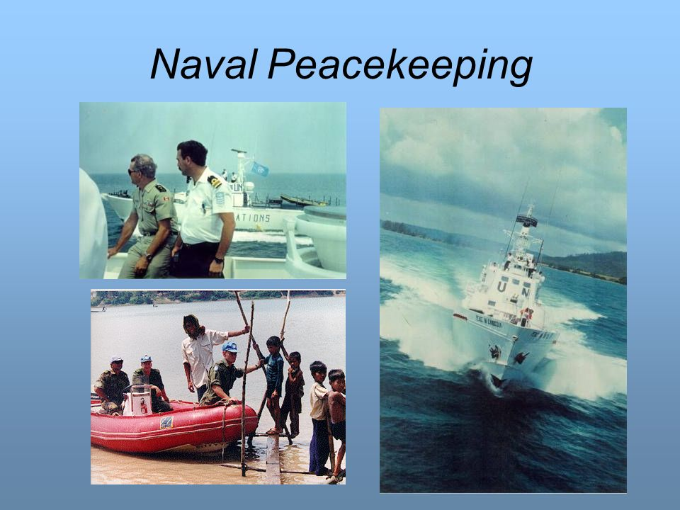 Naval Peacekeeping