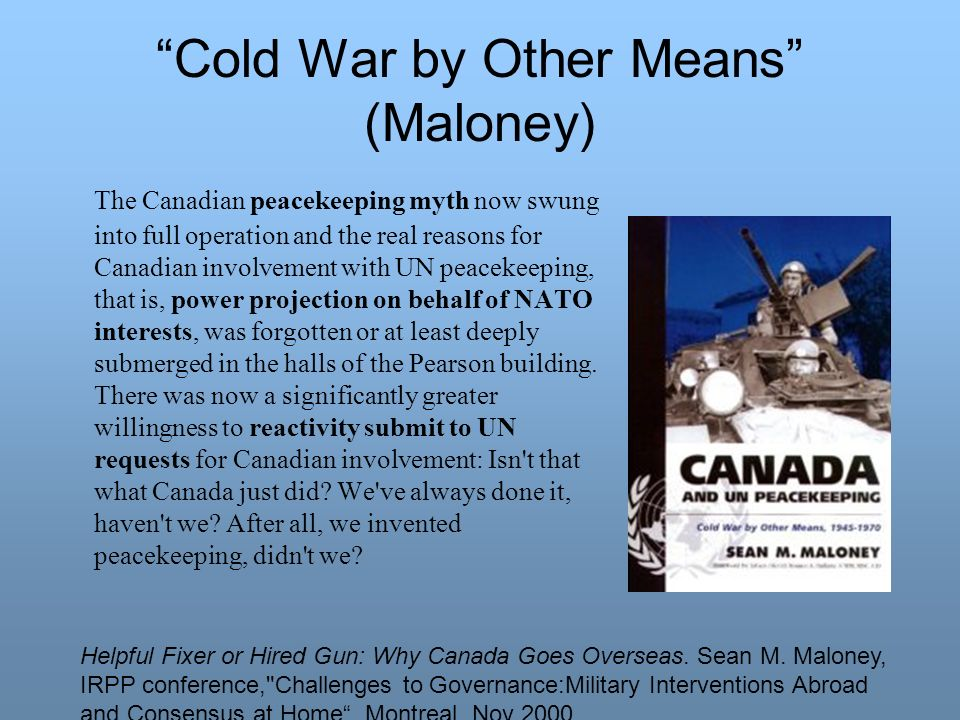 Cold War by Other Means (Maloney)