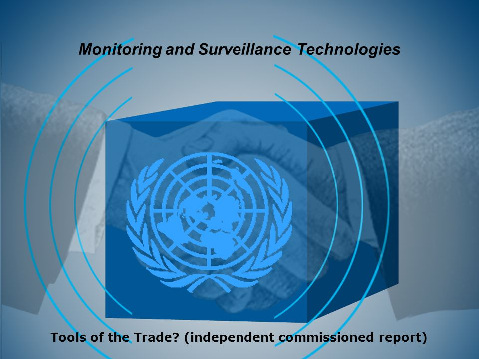Monitoring and Surveillance Technologies