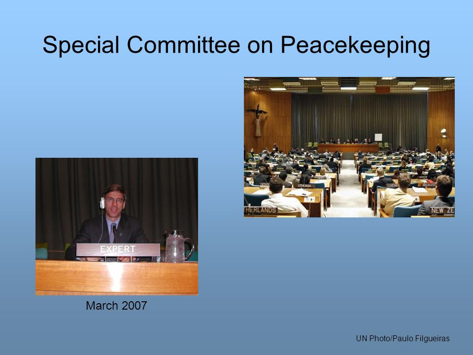 Special Committee on Peacekeeping