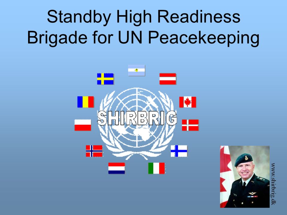 Standby High Readiness Brigade for UN Peacekeeping