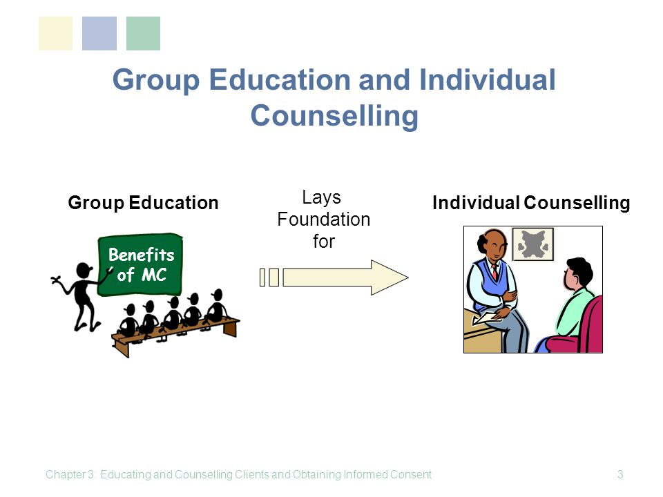 Group Education and Individual Counselling