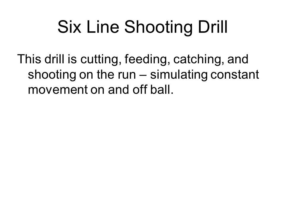 Six Line Shooting Drill