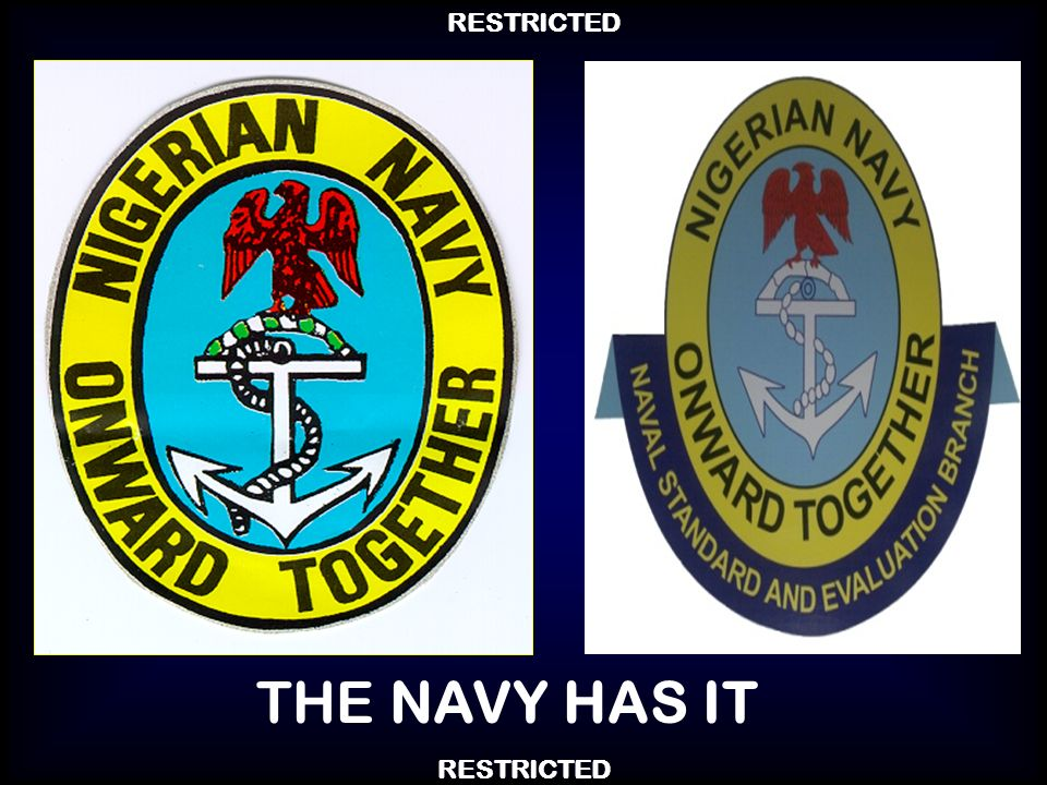 THE NAVY HAS IT