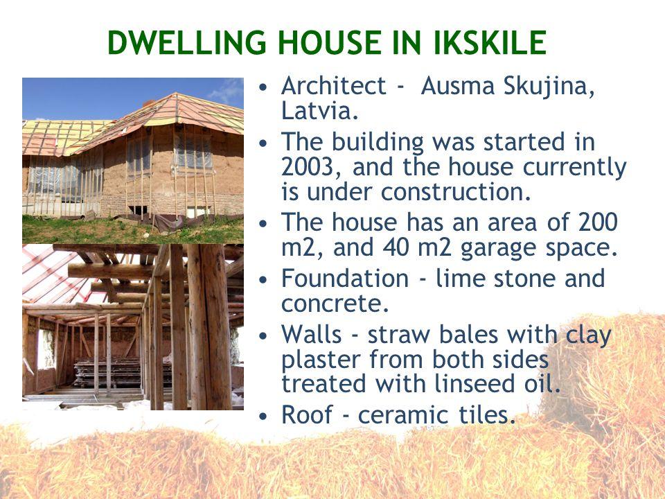 DWELLING HOUSE IN IKSKILE