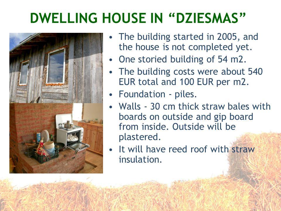 DWELLING HOUSE IN DZIESMAS