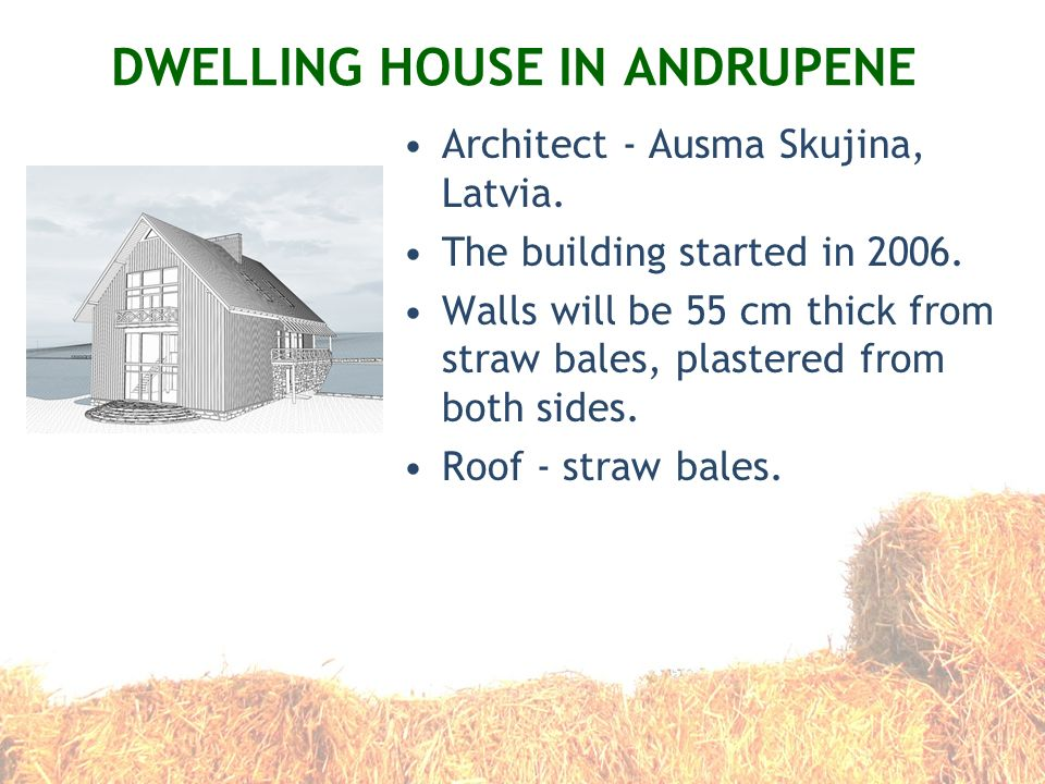 DWELLING HOUSE IN ANDRUPENE