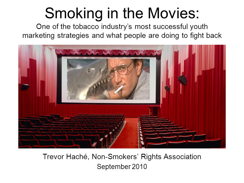 Trevor Haché, Non-Smokers' Rights Association