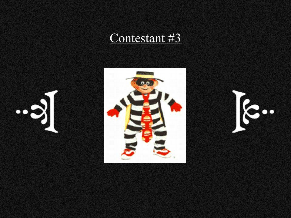 Contestant #3