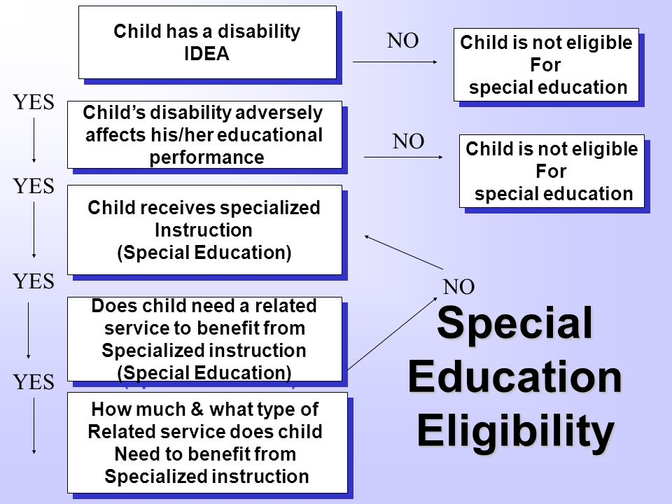 Special Education Eligibility