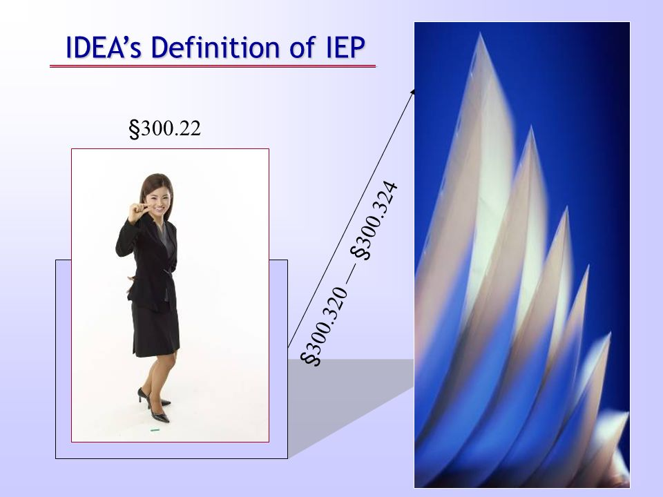 IDEA's Definition of IEP