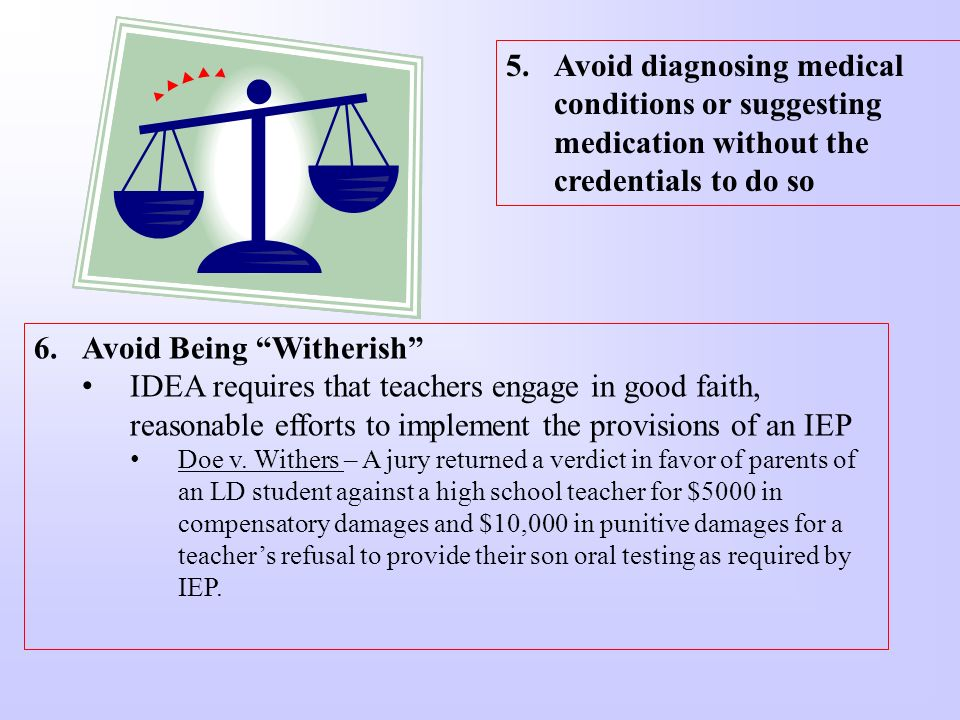 Avoid Being Witherish
