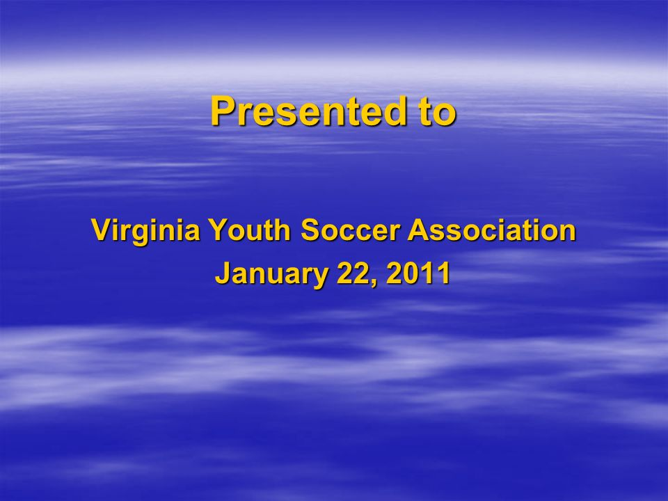 Virginia Youth Soccer Association