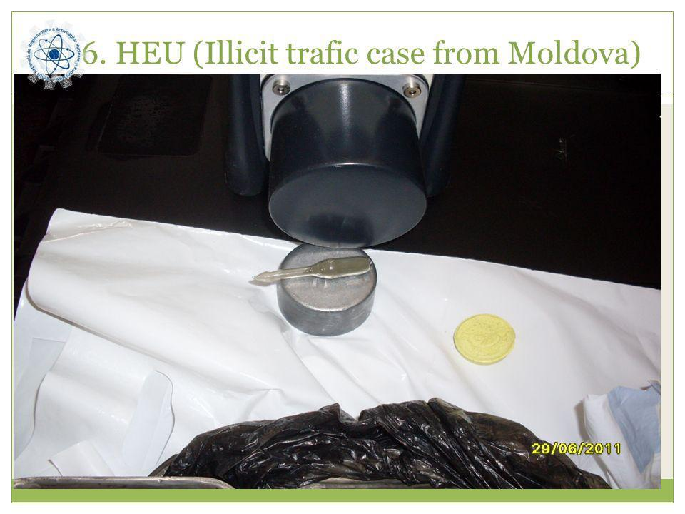 6. HEU (Illicit trafic case from Moldova)