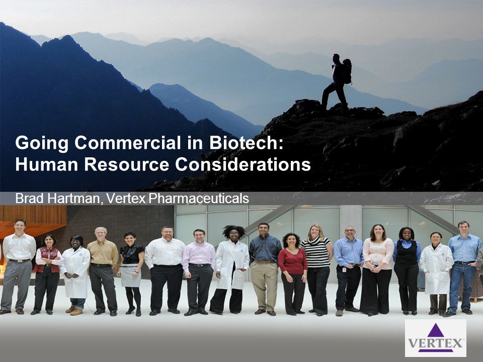 Going Commercial in Biotech: Human Resource Considerations