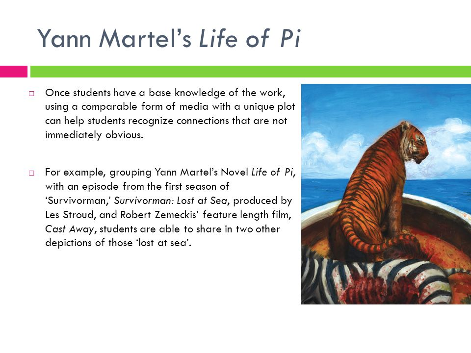 Yann Martel's Life of Pi
