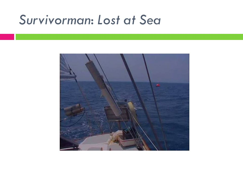 Survivorman: Lost at Sea