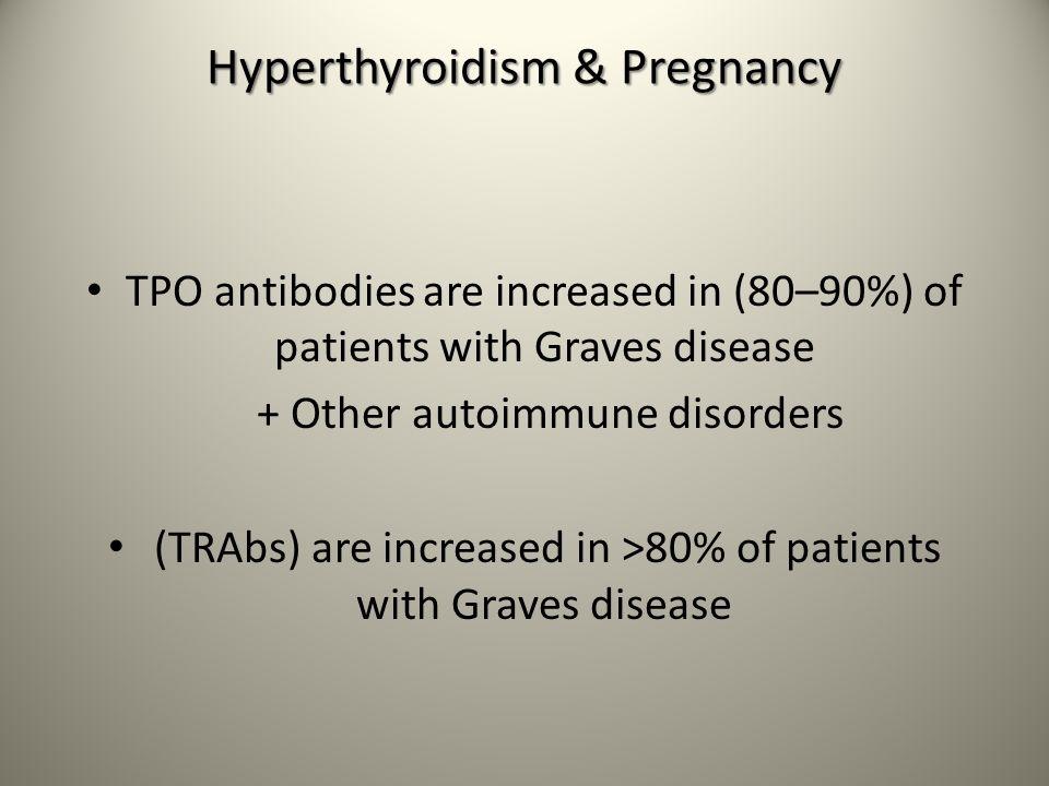 Hyperthyroidism & Pregnancy