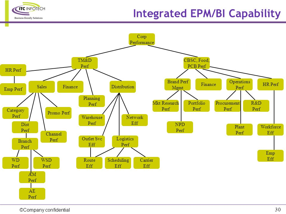 Integrated EPM/BI Capability
