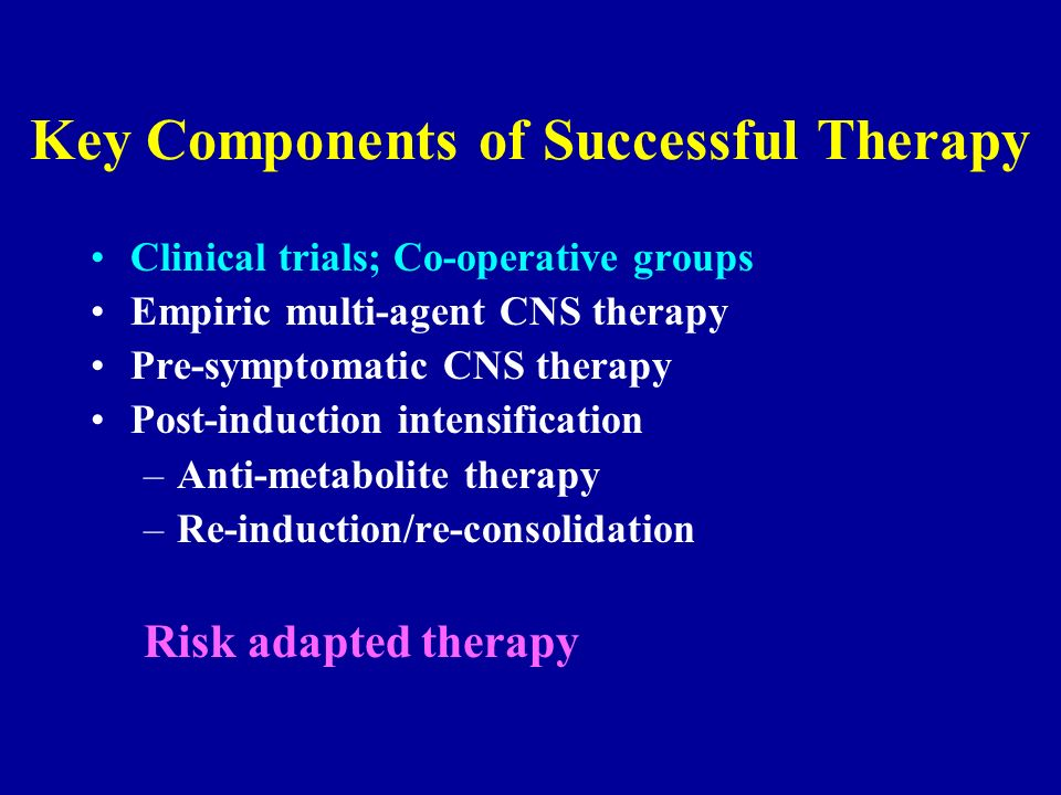 Key Components of Successful Therapy