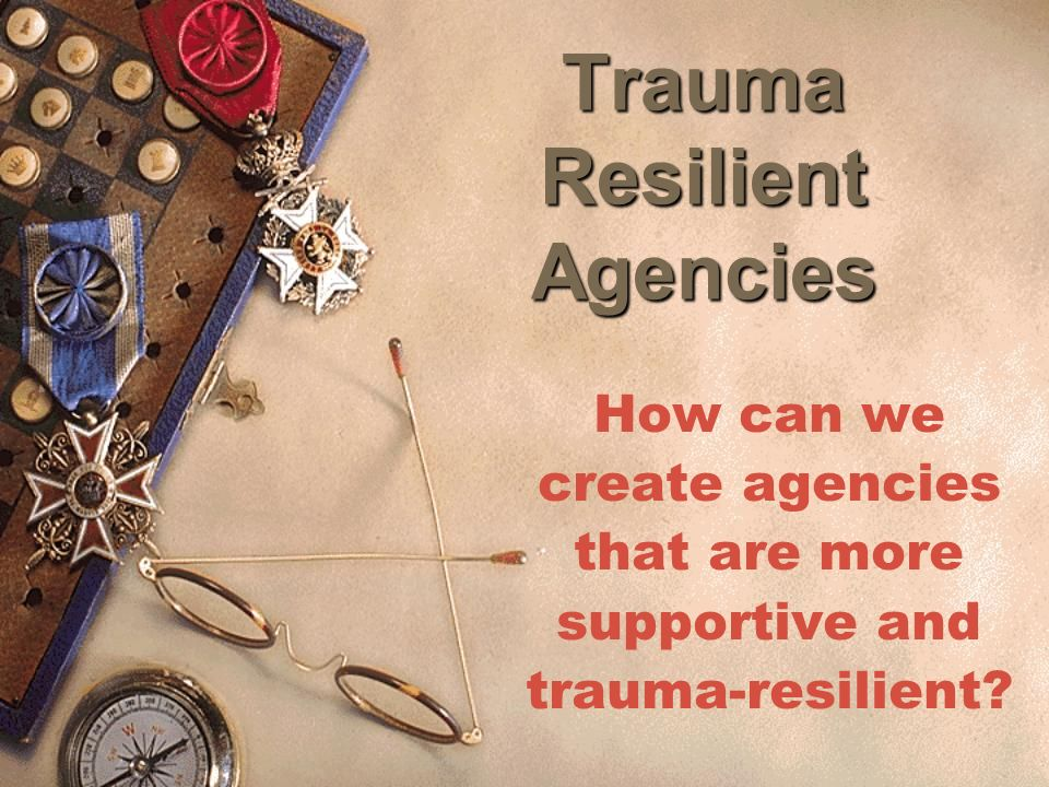Trauma Resilient Agencies