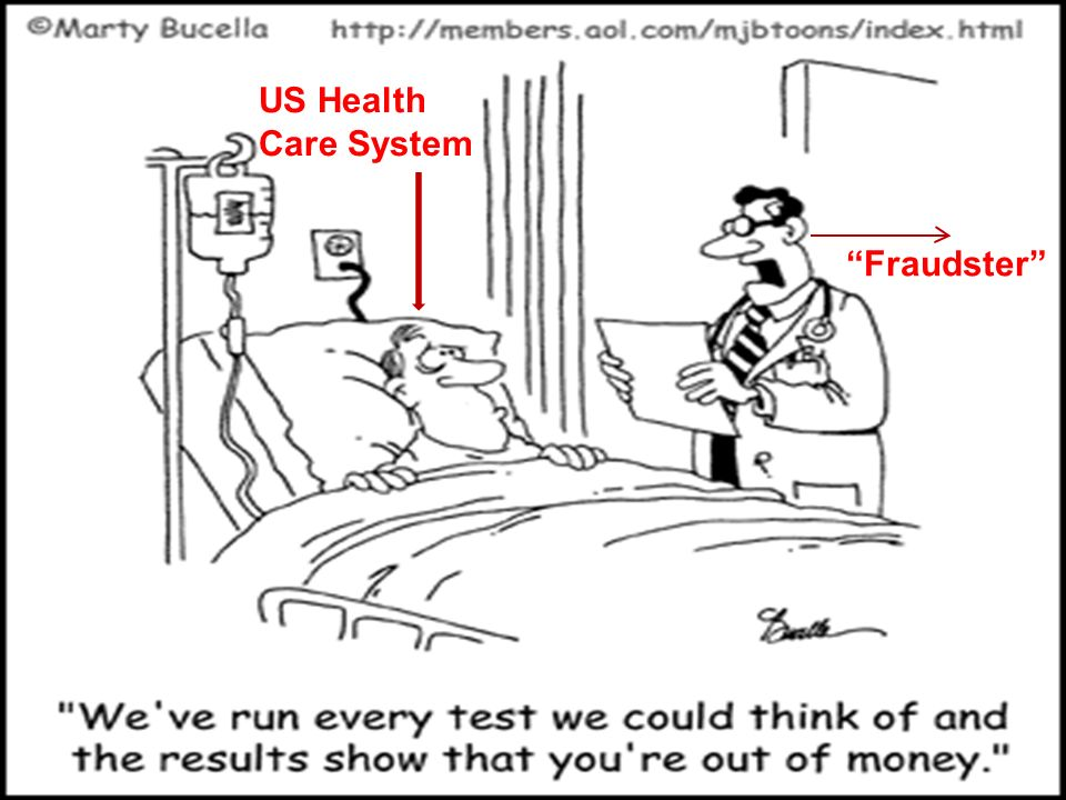 US Health Care System Fraudster