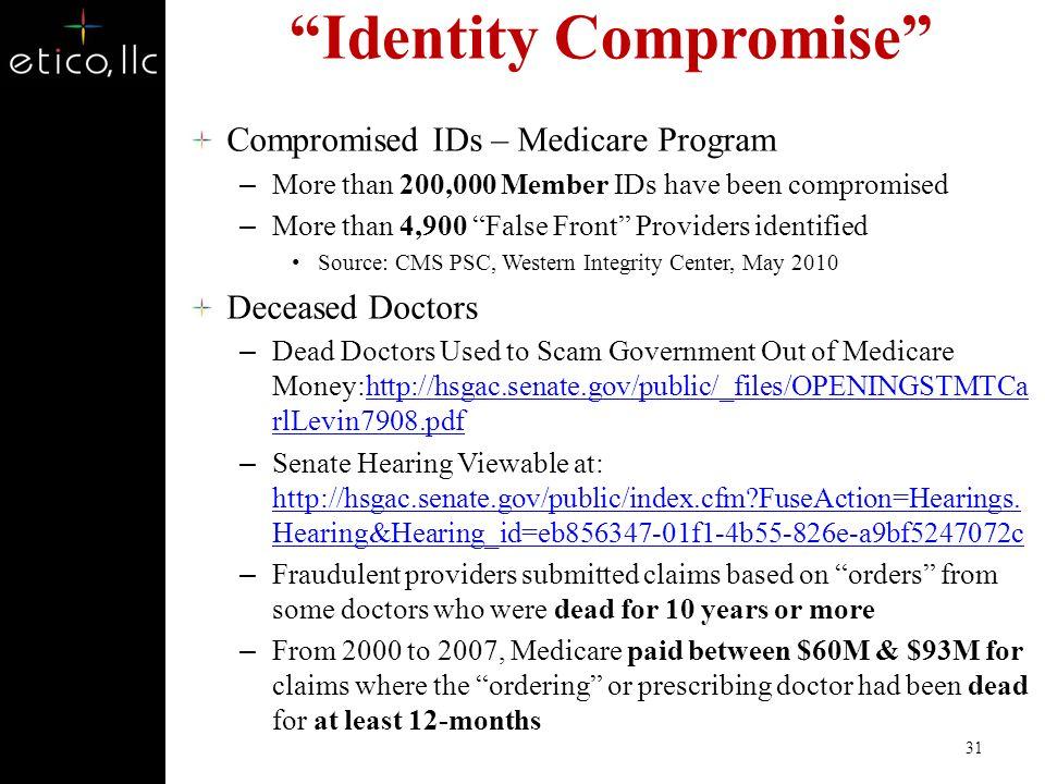 Identity Compromise