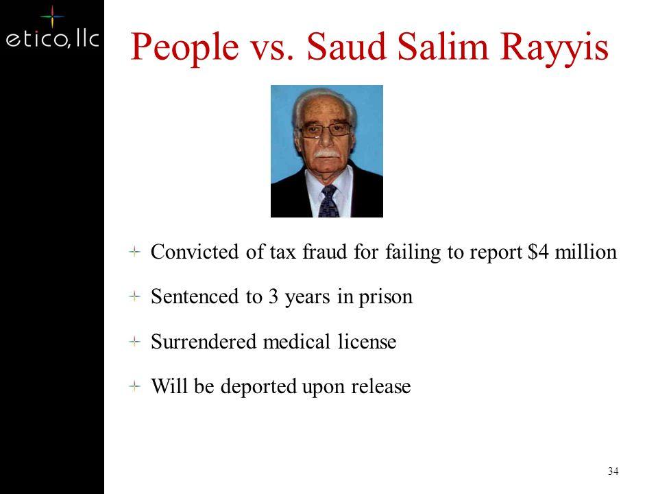 People vs. Saud Salim Rayyis