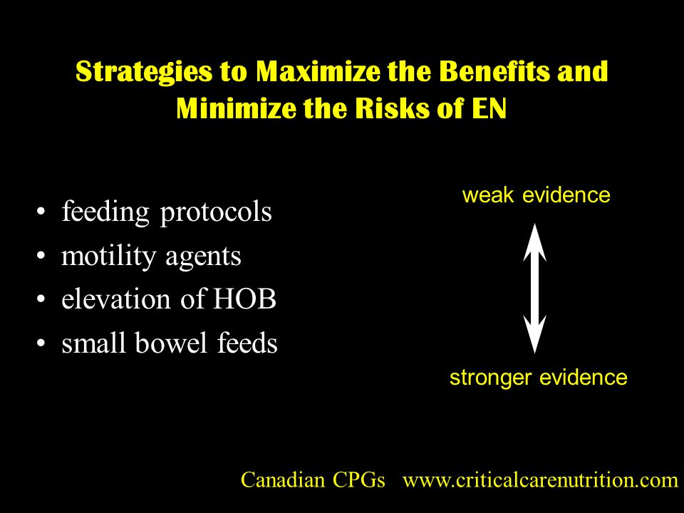 Strategies to Maximize the Benefits and Minimize the Risks of EN