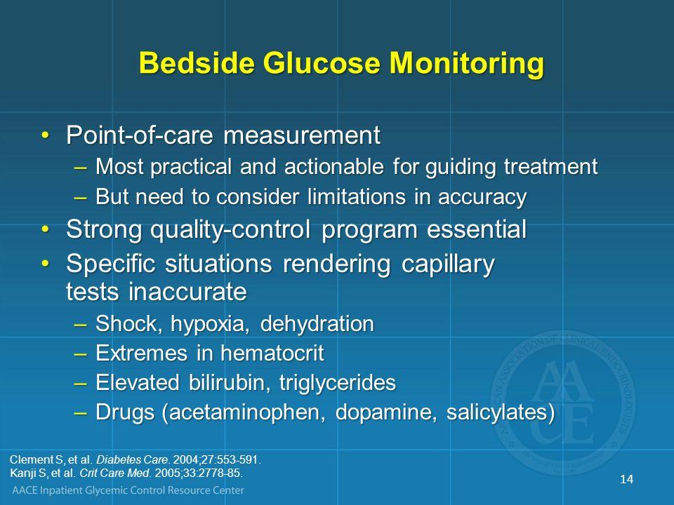 Bedside Glucose Monitoring