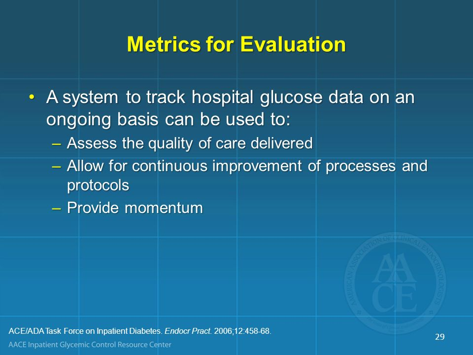 Metrics for Evaluation