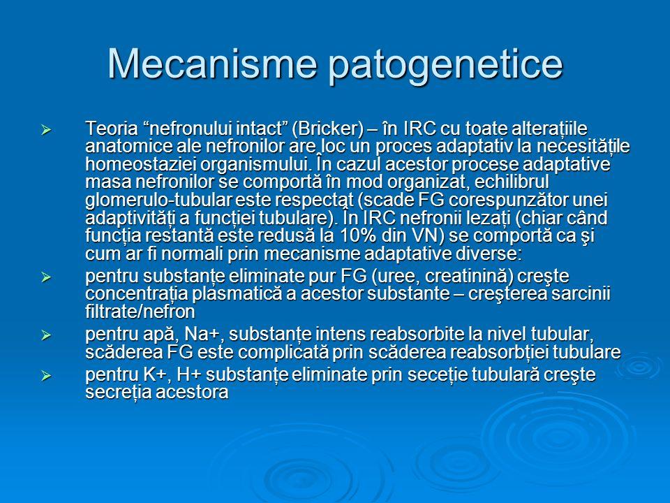 Mecanisme patogenetice